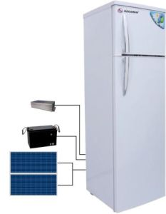 Double Doors of Huge Capacity Solar Refrigerator pictures & photos