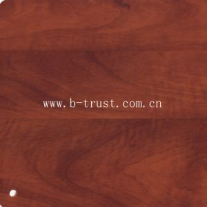 Wood Grain Laminate PVC Film/Foil/Membrane Hot Laminate on MDF Board Htd008 pictures & photos