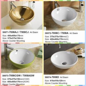 Hotel Type Bathroom Ceramic Washing Basin (30071-30074) pictures & photos