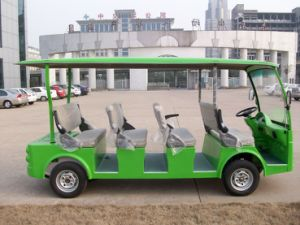 New Smart 8 Seater Electric Sightseeing Bus Made by Dongfeng Electric Vehicle pictures & photos