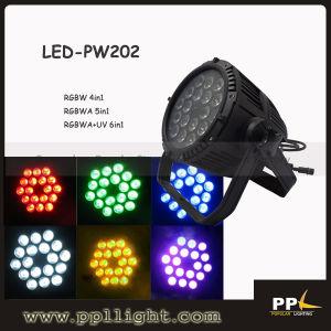 UV LED Light 18PCS * 18W 6in1 LED PAR Light IP65 pictures & photos