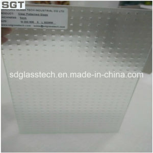 4mm Thickness Toughened Patterned Glass 200mmx300mm pictures & photos