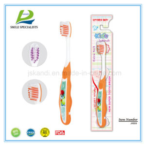 Printing Handle Junior Toothbrush pictures & photos
