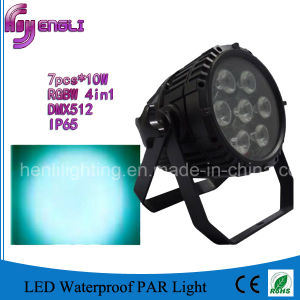 12PCS*10W 4in1 Stage LED PAR 64 (HL-032) pictures & photos