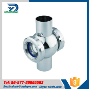 SS304/316L Sanitary Cross Sight Glass (DY-SF088) pictures & photos
