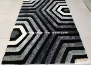 Polyester Modern Shaggy Carpets with 3D Effects pictures & photos
