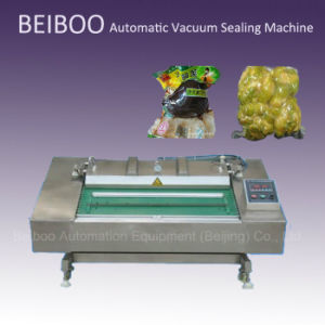 Automatic Continuous Vacuum Sealing Packaging Machine (DZ1000) pictures & photos