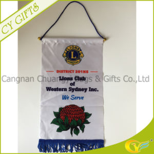 Double Side Banner Lion Club Flag