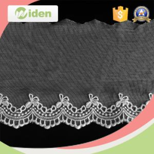 Oeko Approval Trial Order Acceptable Africa Wholesale Net Embroidery Lace pictures & photos