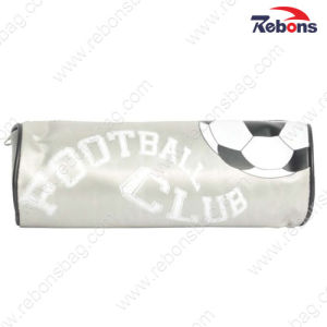 Tarpaulin PVC Kids Football Roll School Pencil Cases for Boys pictures & photos