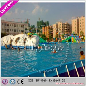 Lilytoys Inflatable Water Park with Frame Metal Pool for Sale (Lilytoys-wp-047) pictures & photos