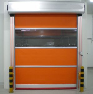 Industrial Electric PVC High Speed Automatic Garage Door pictures & photos