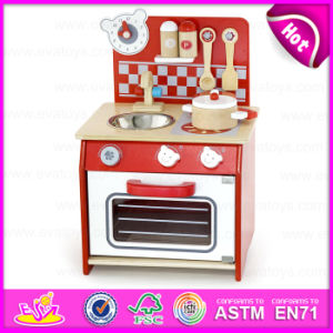 Wooden Craft Modern Comfort Educational Wooden Kitchen Toy Set for Kids W10c158 pictures & photos