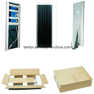 Ce RoHS 6W-80W All in One Motion Sensor Solar Street Light pictures & photos