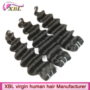 OEM Factory Price Virgin Peruvian Best Quality Hair Extensions pictures & photos