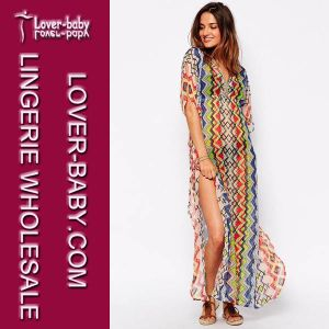 Fringe Beachwear Swimsuit Summer Dress Cover up (L51269) pictures & photos