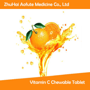 Hot Sale Vitamin C Chewable Tablet pictures & photos