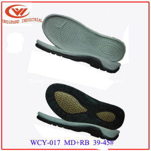 Summer Best Sale Sandals Outsole Outdoor Beach Sole with EVA and Rb/TPR Material pictures & photos