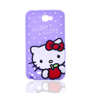 3D Cartoon Kitty Siliconephone Case for Samsung Galaxy G530 J5 J7 J5prime Mobile Accessories (XSK-001)