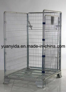 Warehouse Heavy Duty Metal Folding Mesh Pallet Box Containers Pallet Cages pictures & photos