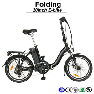 Hot Selling Lithium Battery Electric Bicycle Electric Bike E-Bicycle E-Bike (TDN09Z) pictures & photos
