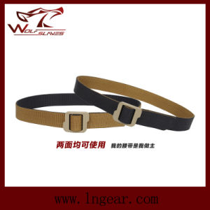 Fashion Double Side Nylon Tactical Belt for Military Belts Waist Belt pictures & photos