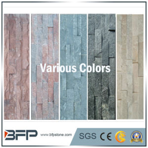 White Cultural Stone Slate for Wall Panels pictures & photos