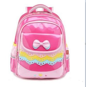 PU Leather Girls′ School Bags pictures & photos