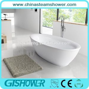 Oval Shape Acrylic Freestanding Bathtub (BL1005T) pictures & photos