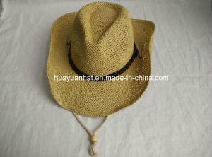 100% Paper Cowboy Hat Shapeable Brim Hat pictures & photos