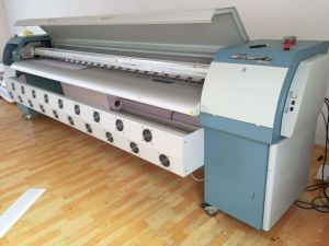 Infiniti/Challenger Solvent Flatbed Printer Fy-3206, 3.2m, with 6 Spt510-35pl Heads Outdoor Digital Solvent Inkjet Printer for Banners. pictures & photos