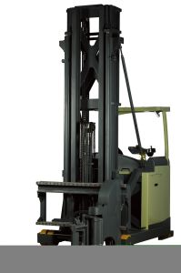 3 Way Electric Reach Truck pictures & photos