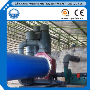 4-5t/H Dryer Cyclinder, Rotary Drum Dryer for Wood Sawdust/Chips pictures & photos