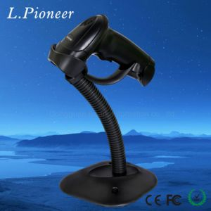 Handheld Laser Barcode Scanner with Stand