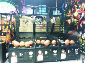 Amusement Park Arcade Street Basketball Game Machine From Mantong Factory pictures & photos
