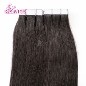 Unprocessed Wholesale Price Virgin Human Tape in Hair Extension pictures & photos
