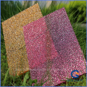 UV Coated Embossed Home Decoration at Best Polycarbonate Sheet Price pictures & photos