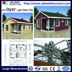2017 New Prefab House Container Light Steel Vila Hotel Room pictures & photos