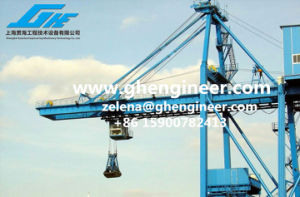 High Efficient Ship Unloader Bridge Crane on Port pictures & photos