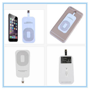 "5.5""Inch iPhone 6 Plus Qi Standard Wireless Charger Receiver Pad pictures & photos"