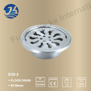 Stainless Steel Bathroom Hardware Floor Drain (D30-2)