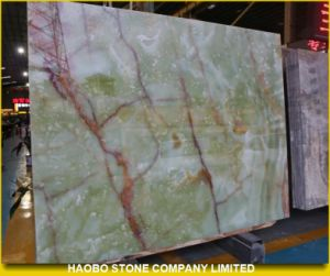 Green Onyx, Green Jade Stone Tiles pictures & photos