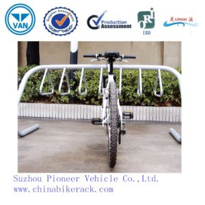 White for 7 Bikes Bike Parking Bike Stand pictures & photos