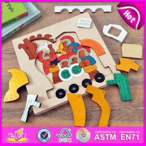Wholesale Eco Friendly DIY Kids Toy Educational Toy Horse Shape Wooden 3D Puzzle W14A146 pictures & photos
