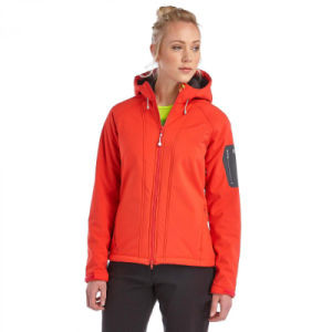 2016 New Design Women Hoody Softshell Jacket pictures & photos