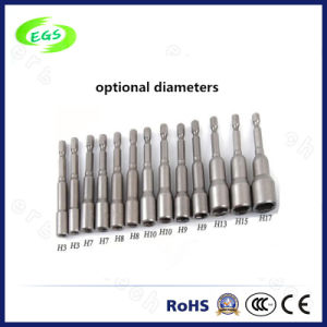 Hexagonal Head with Hole Single End Screw Drive Bits pictures & photos