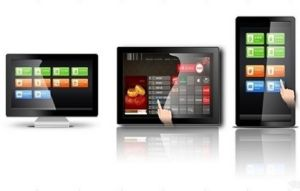 Andriod Touch Wall-Mounted Advertising Machine LED Display pictures & photos