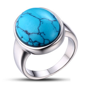High Polished Wholesale Price Fashion Turquoise Ring pictures & photos