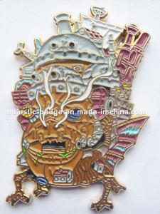Soft Enamel Gold Plated Zinc Die Casting Lapel Pin pictures & photos