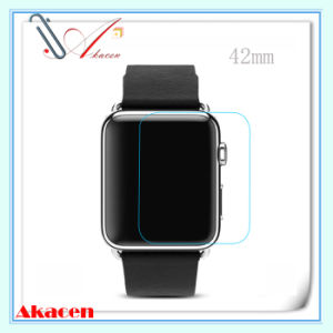 0.33mm 9h Tempered Glass Screen Protector Guard for Apple Watch 42mm (Arc Edge)